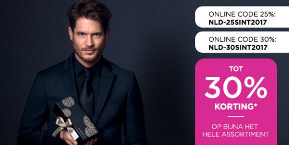 Shop je decembercadeaus nu met 25% korting @ ICI Paris XL