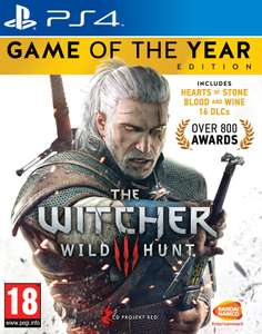 The Witcher 3 Wild Hunt Game of the Year Edition €15 @Game Mania (Black Friday)