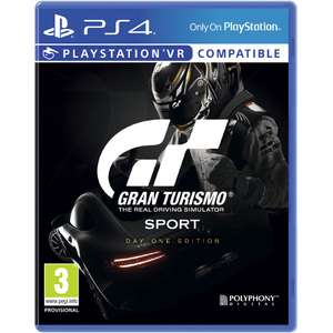 PS4 Gran Turismo Sport + Edition€19.99 @ Intertoys/Bart Smit