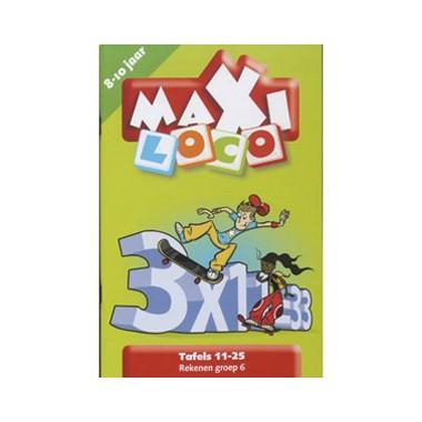 Maxi Loco - Tafels 11-25 €0,83 @ Bart Smit