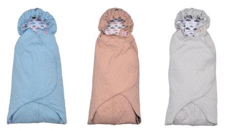 Lodger Clever quilt wrapper deken - 3 kleuren €19,99 @ Babysupershop