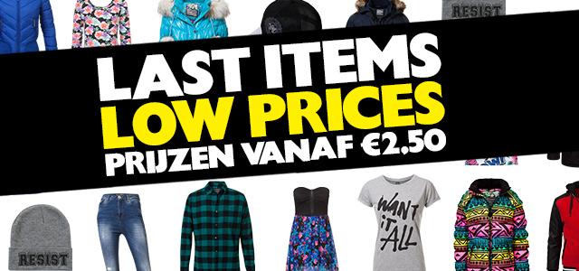 Sale bij Coolcat! Prijzen vanaf €2,50