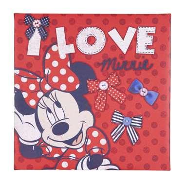 Graham & Brown canvas Minnie 30x30 cm voor €1 @ Leen Bakker