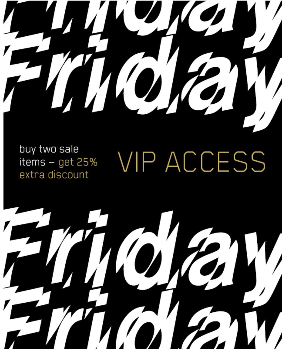 Black Friday - VIP Acces - 25% extra korting bij 2 stuks in de sale @ Sneakersnstuff