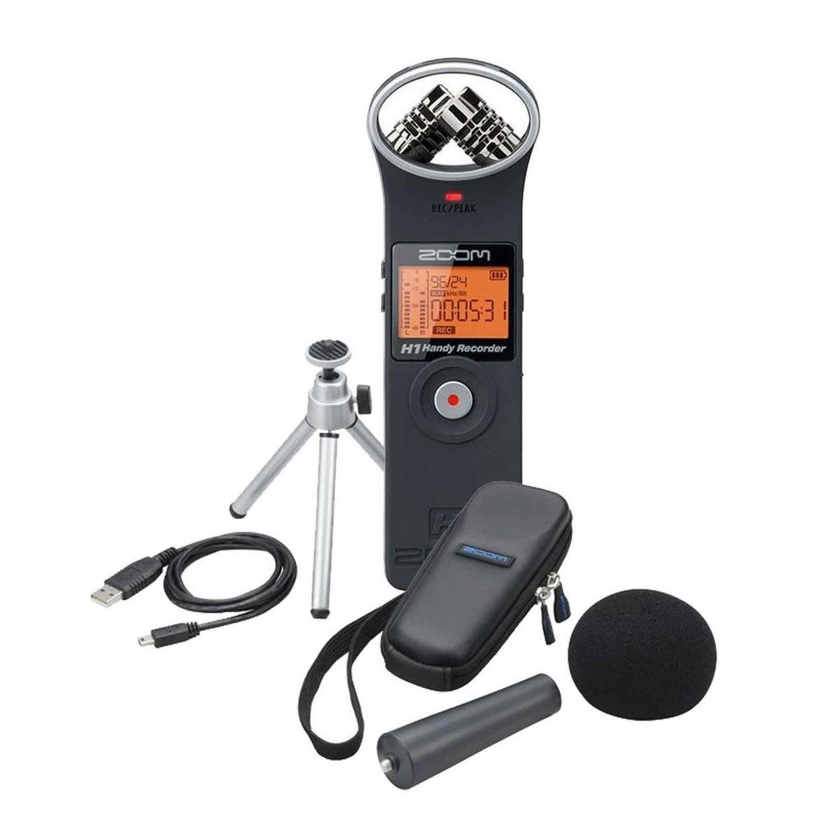 Zoom H1 audio-recorder + accessoiresset (aph-1) @ Gear4music