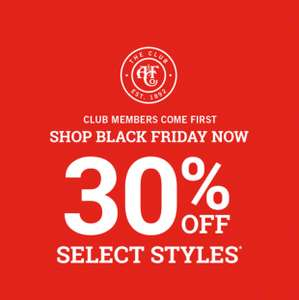 30% OFF select styles @ Abercrombie & Fitch.