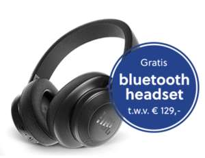 JBL Bluetooth headset gratis bij KPN telefoon + abonnement @ Mobiel.nl