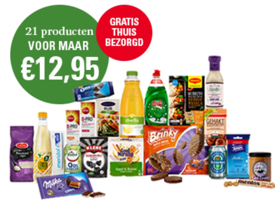 Veronica Feestdagen Boodschappenpakket @veronicamagazine.nl