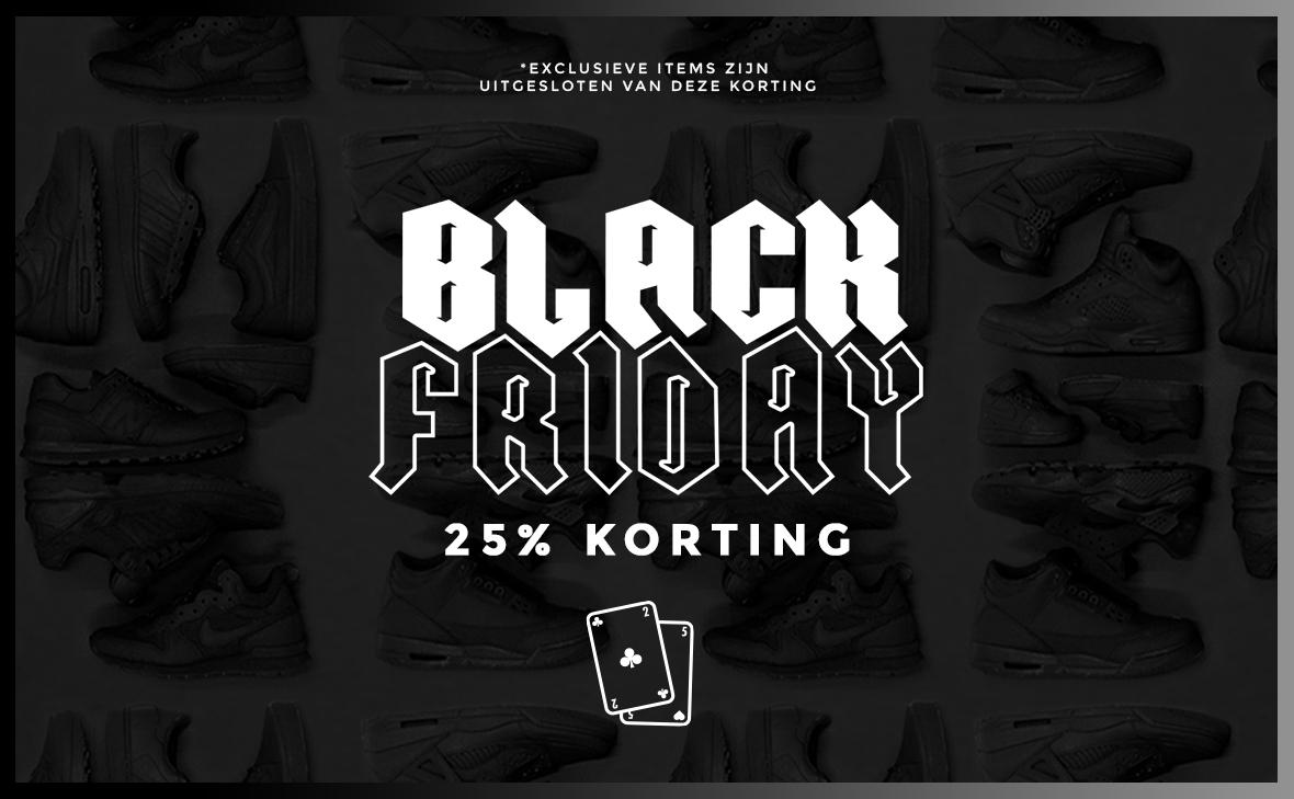[Black Friday] 25% korting op alles @ Sneakerbaas