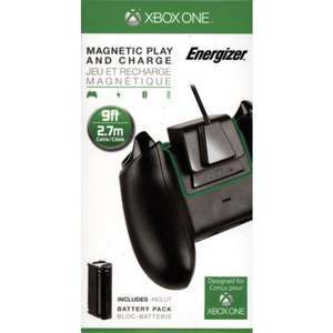 Energizer Magnetic Play and Charge Kit (Xbox One) voor €7,95 @ Coolshop