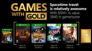 Xbox Live Games With Gold voor December