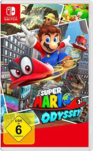 Super Mario Odyssey (Switch) voor €36,49 @ Amazon.de