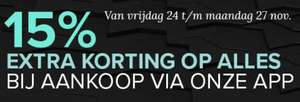 Black Friday weekend: 15% (extra) korting in de app @ Kijkshop