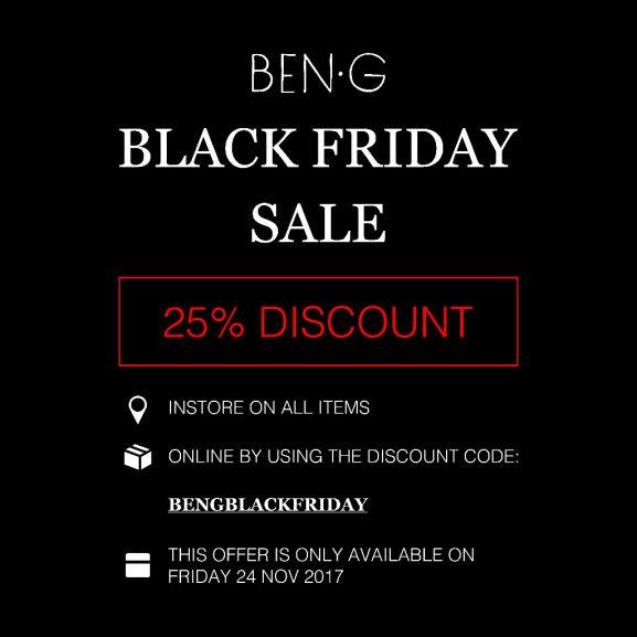 BEN-G; [Update] Cyber Monday -25%