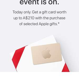 Apple one day event (Black Friday)