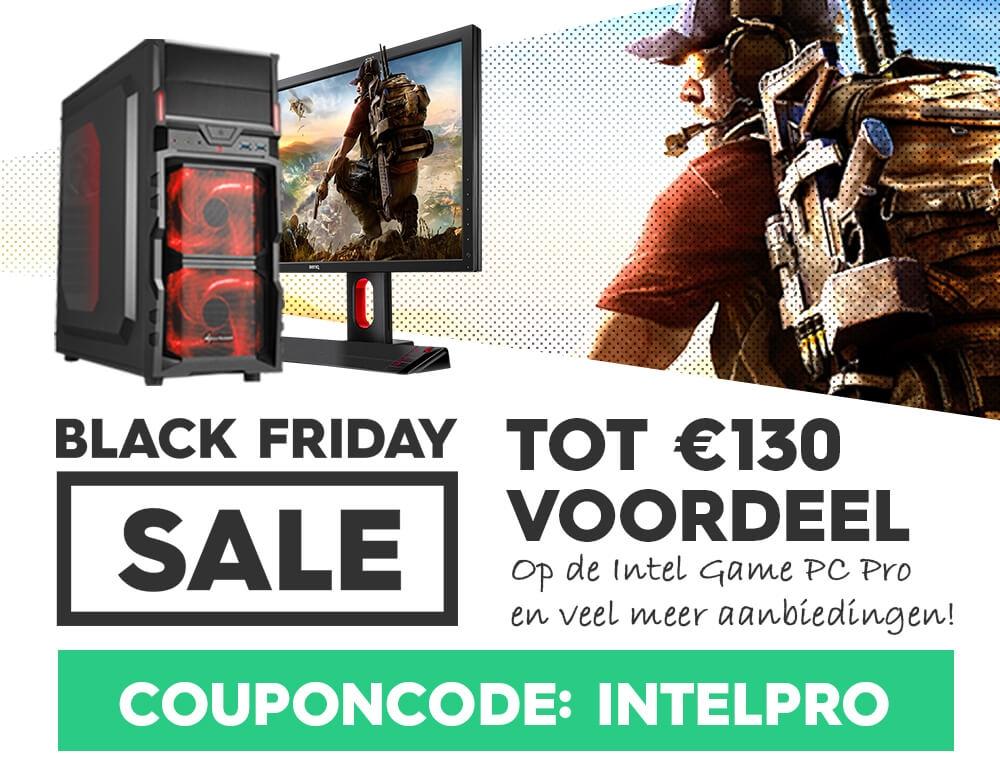 Tot max. € 130 voordeel op de Intel Game PC Pro @GamePC.nl