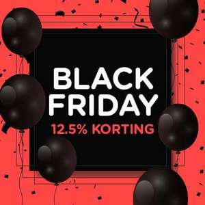 [Weblectronics] Black Friday 12,5% korting