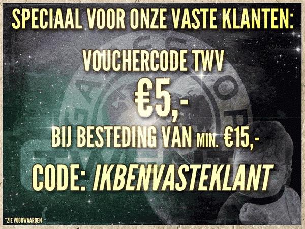 Vouchercode t.w.v. €5,- bij een besteding van minimaal €15 @ Gameshop Twente