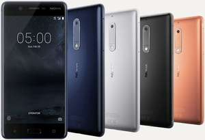 Nokia 5 - 16 GB - alle kleuren  € 99,-  (black friday deal) Bol.com