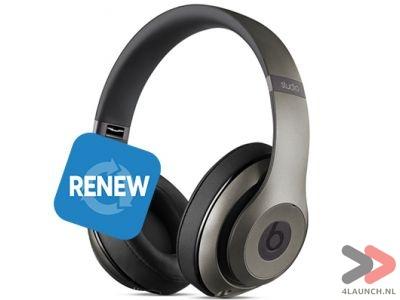 Beats Headset Studio 2 Wireless, Renew (titanium) voor €149,- @ 4launch