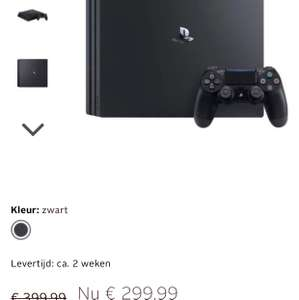 PlayStation 4 (PS4) Pro 1 TB console @ Otto