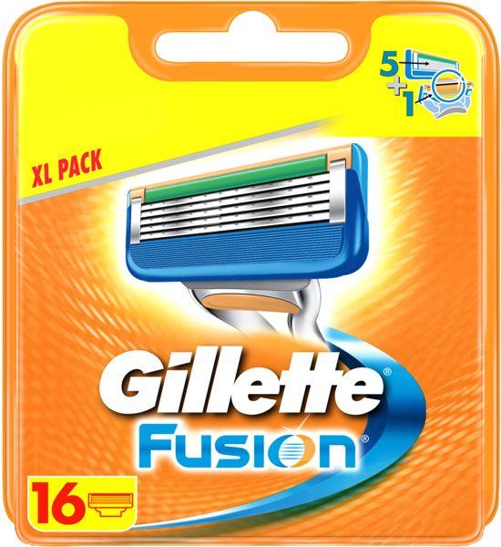 Black Friday! Gillette Fusion 16 mesjes voor maar 36,99 @ Kruidvat.nl