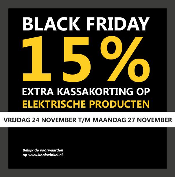 15% extra kassakorting op alle elektrische apparaten kookwinkel.nl ( Oldenhof )