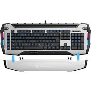 [Black Friday] Roccat Skeltr Smart Communication RGB Gaming Keyboard wit voor €70 bij alternate