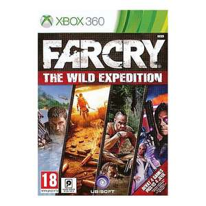 Far Cry: The Wild Expedition Xbox 360 (4 Games) voor € 16,75 @ Zavvi