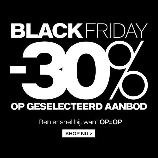 Black Friday: 30% korting op deel van collectie @ Van Haren