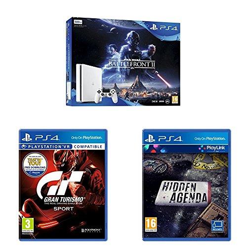 Diverse PS4 Slim 500GB bundels vanaf €225 @ Game/Amazon.co.uk/Zavvi