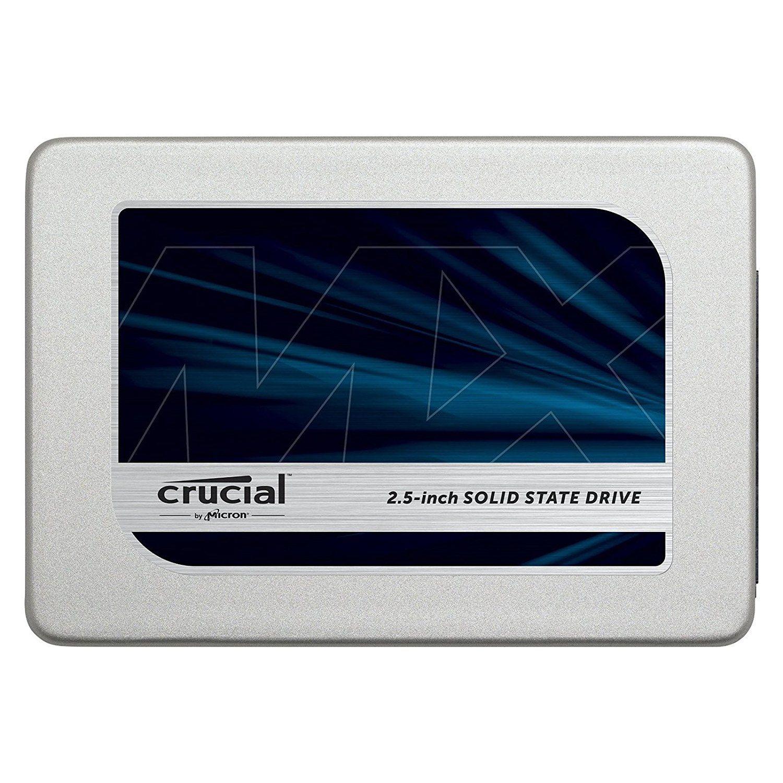Crucial MX300 CT525MX300SSD1 Interne SSD Schijf, 525GB SATA 2,5 inch (5,08 cm)