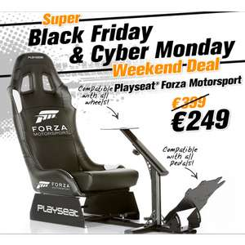 Playseat Forza motorsport (voor bij het Logitech stuur)