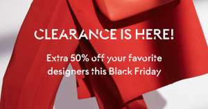 Cyber Moday: 50% EXTRA korting op Clearance @ The Outnet