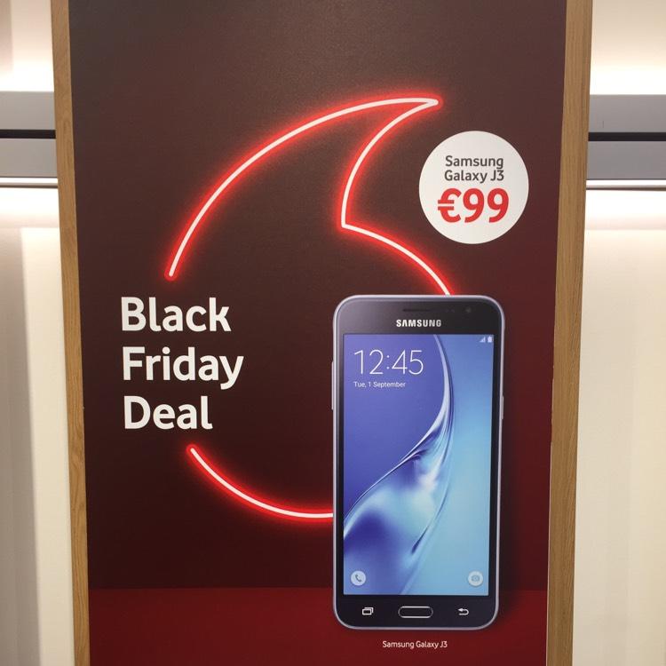 Samsung J3 voor 99 euro in de vodafone winkels