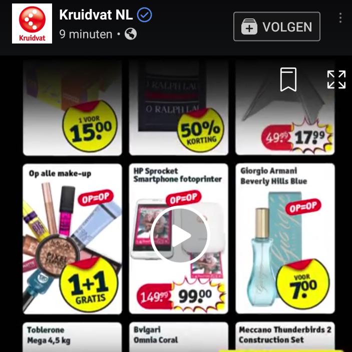 Black Friday: 1+1 gratis op alle make up bij Kruidvat (t/m zondag 26-11)