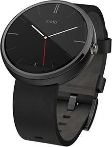 Moto 360 smartwatch voor €206,37 @ Amazon.fr