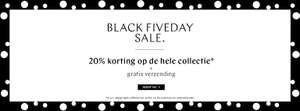 Black Five Day Sale 20% korting Steps