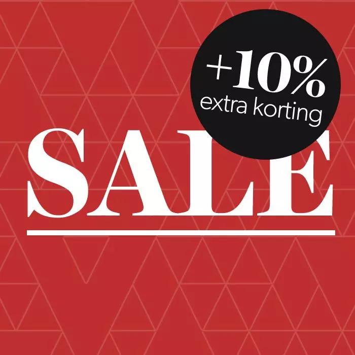 Actie: 10% extra korting op veel sale @ Wehkamp