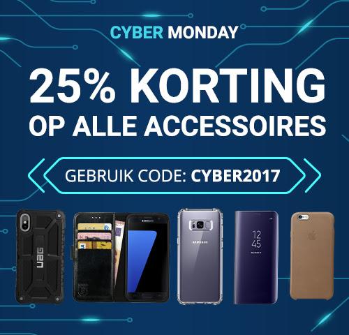 25% korting op alle accessoires door code @ GSMpunt