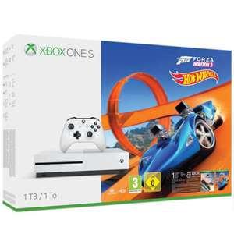 Xbox One S 1TB Forza Horizon 3 Hot Wheels Bundel + Wolfenstein II voor €250,79 @ Zavvi.com