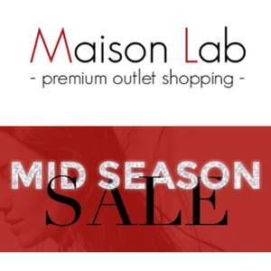 SALE - alles 90% korting (Ted Baker -70%) @ Maison Lab