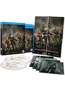 Halo: Nightfall en Halo 4: Forward Unto Dawn Collectors Edition (Blu-ray) voor €5,05 p.st @ Base