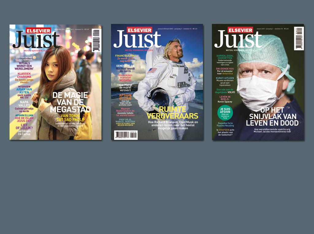 Gratis proefnummer van het blad Elsevier Juist