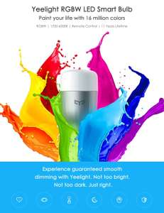 Xiaomi Yeelight smart light bulb (color)
