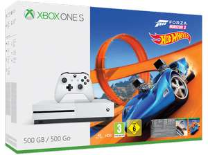[GRENSDEAL] XBOX ONE S 500GB + Forza Horizon 3 Hot Wheels Bundle bij Saturn.de