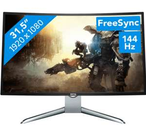 "BenQ EX3200R, 31.5"" Curved Gaming Monitor voor €299 @ Coolblue"