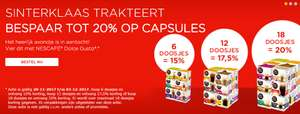 Tot 20% korting op Dolce Gusto koffiecapsules