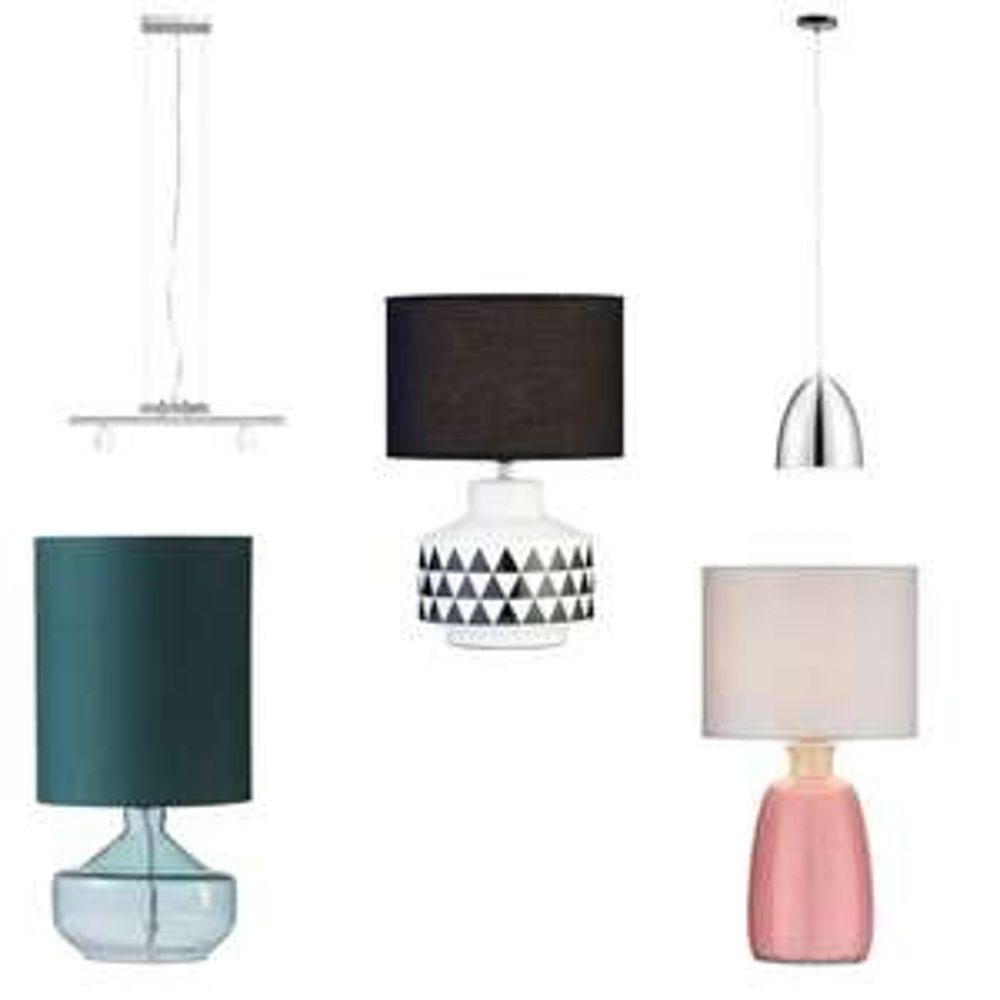 Diverse lampen met hoge kortingen (tot -67%) @ Leen Bakker