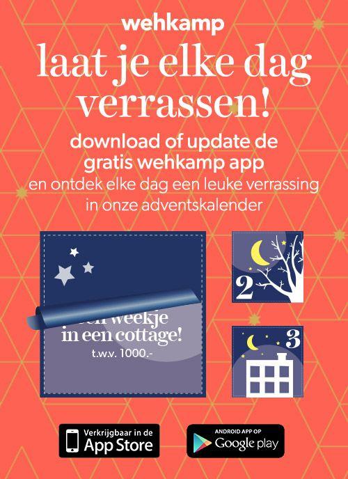 Adventkalender @ Wehkamp App